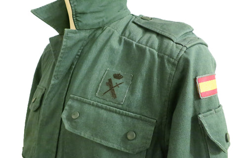 Spanish Army Jacket in Re:thread