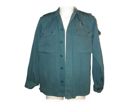 Spanish Army Jacket Front