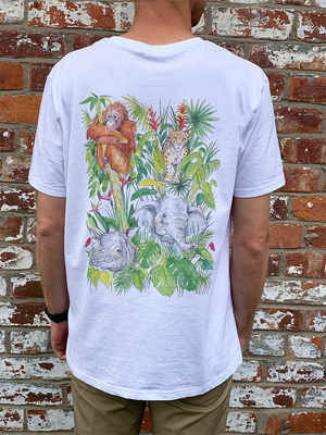 Rainforest Trust: Men's Borneo T-Shirt