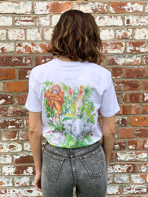 Rainforest Trust: Women's Borneo T-Shirt