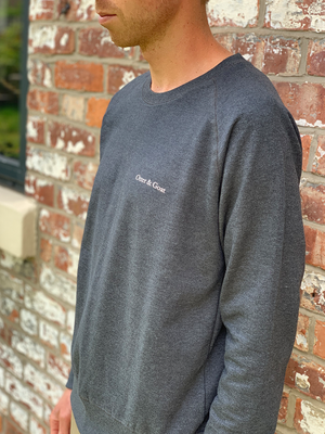 Recycled Jumper Men's - Charcoal