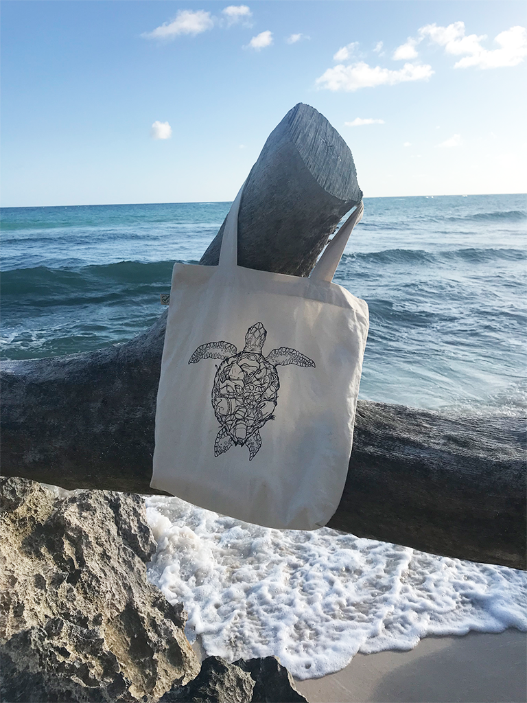 Project Aware: Organic Turtle Tote Bag