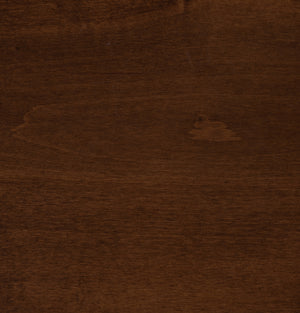 Asbury On Brown Maple Sample