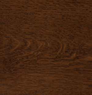 Asbury on Quarter Sawn White Oak Sample