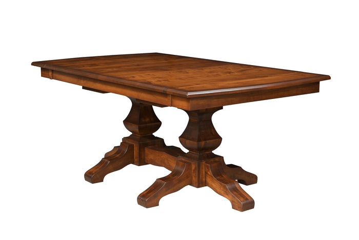 Craftsman Diamond Pedestal Table