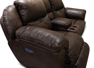 EZ6D85R Double Reclining Loveseat Console