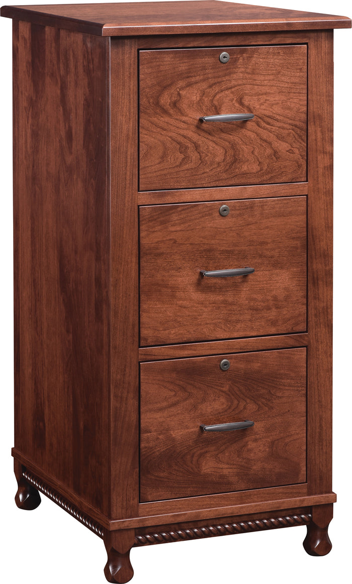 Henry Stephens 3 Drawer File Cabinet