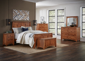 Amish Made Boulder Creek Bedroom Set