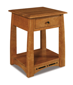Boulder Creek Open Nightstand