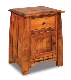 Amish Made Boulder Creek Nightstand
