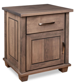 Monarch 1-Door Nightstand