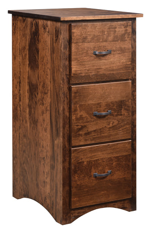 Shaker 3 Drawer File Cabinet