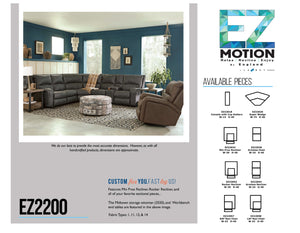 EZ2200 Sectional