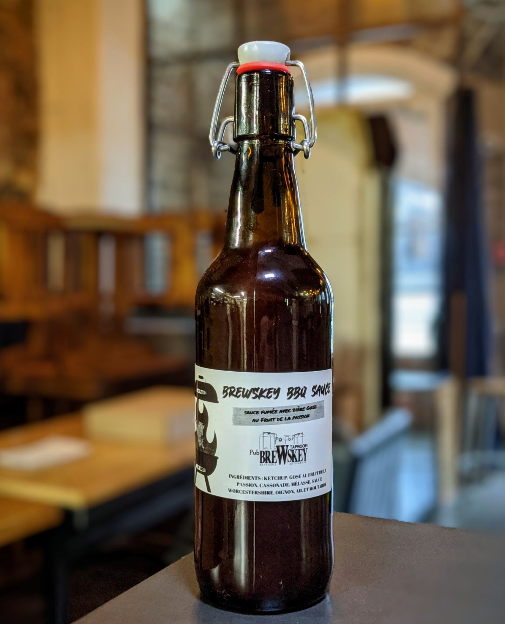 BreWskey BBQ SAUCE - Edition Gose Fruit de la Passion (500ml)