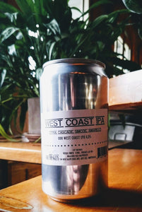 1 CROWLER - WEST COAST IPA Citra, Cascade, Simcoe, Amarillo (750ml)