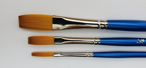 Series 800 | Gold Sable Stroke Brush - Flat