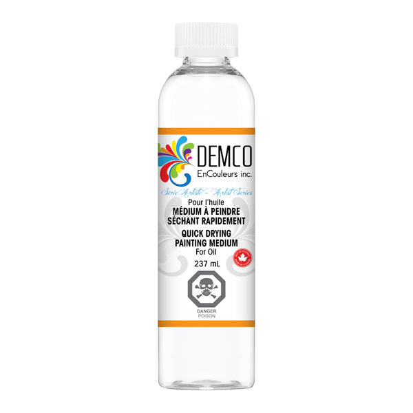 Quick Drying Painting Medium for Oil | 120ml Bottle