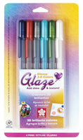 Glaze® 3-D Glossy Ink Pens | Package of 6