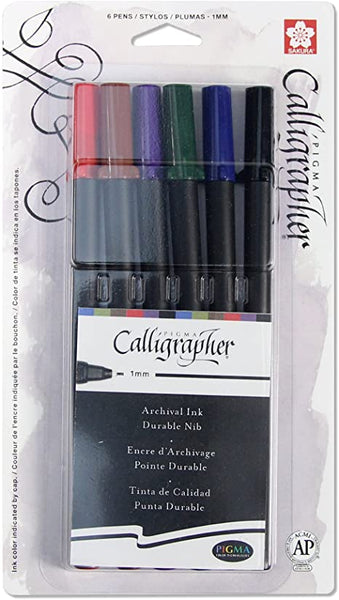 Pigma® Calligrapher™ Pens | 2mm | Set of 6