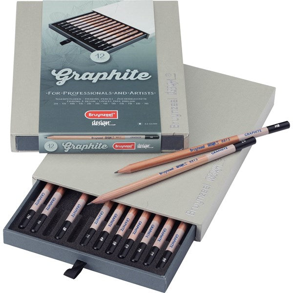 Graphite Pencil Box Set