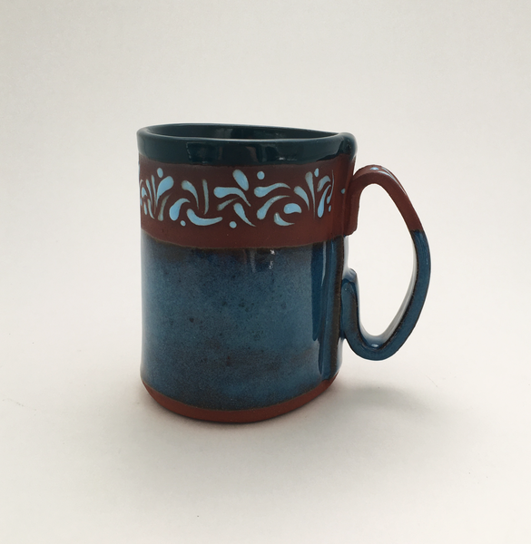 Oasisware Mug with Teal Interior