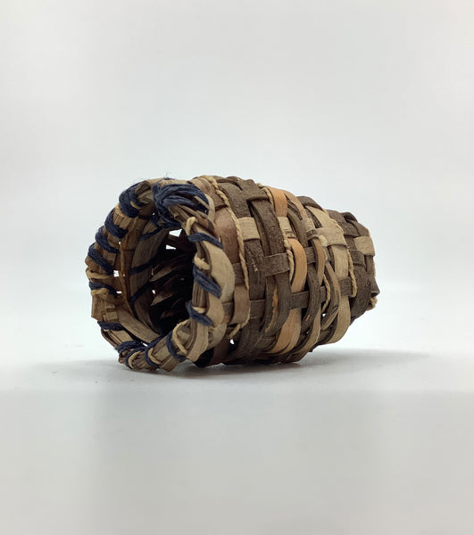 Cedar Basket with Fir Cone