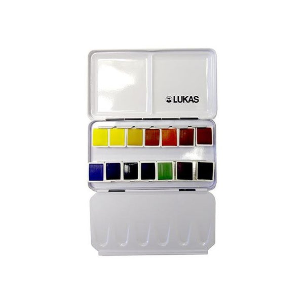 Aquarell Studio Watercolour Travel Box | 14 half pans