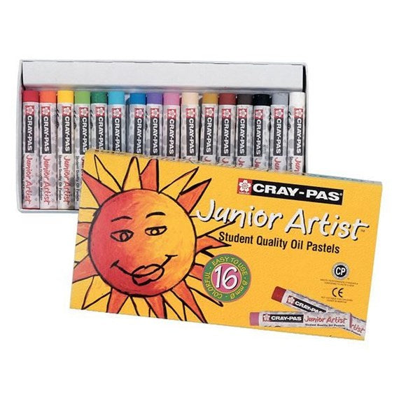 Cray-Pas Junior Artist Oil Pastels | Set of 16