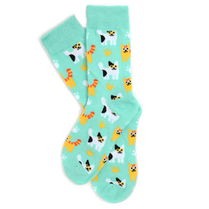 Women's kitten socks