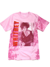 Load image into Gallery viewer, pink tie dye Whitney Houston graphic short sleeve music tee