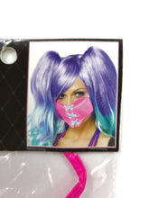 Load image into Gallery viewer, pink lace up heart mask