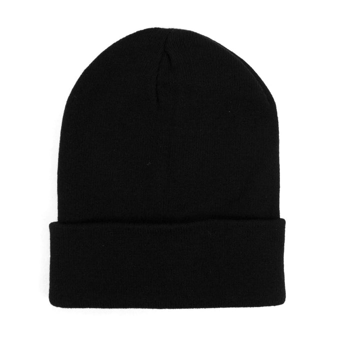 Black thermal windproof beanie