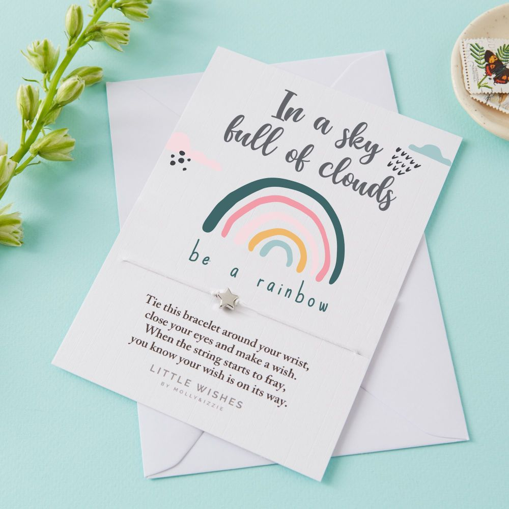 Be A Rainbow Wish Bracelet Card *Limited Edition*