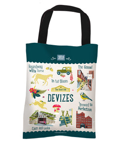 Devizes 'The Good Life' Tote Bag