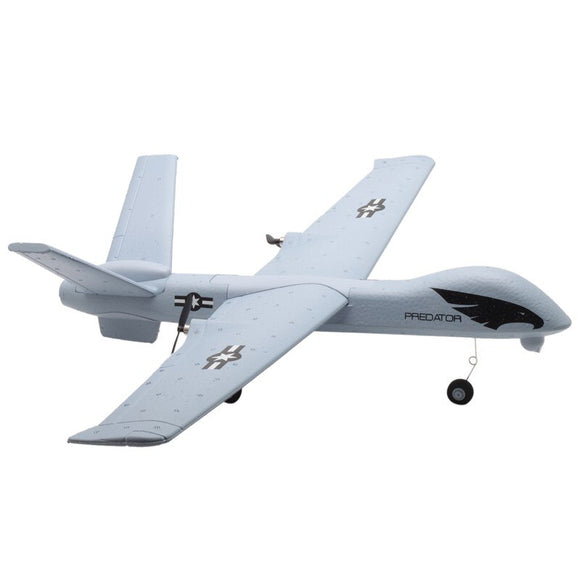 RC Airplane Plane Z51 Predator 660mm Wingspan 2.4G 2CH Glider RC Airplane RTF Built-in DIY US RC Airplane plane jet Flying Model