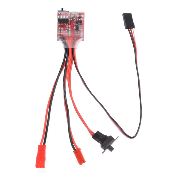 New Sale 30A 4-8V Mini Brushed Electric Speed Controller ESC Brush Electronic Motor Speed Controller For RC Car