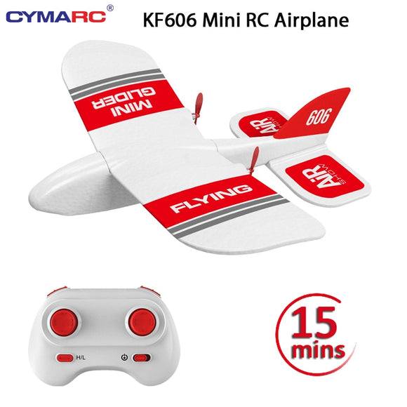 KF606 2.4Ghz RC Airplane Flying Aircraft EPP Foam Glider Toy Airplane 15 Minutes Fligt