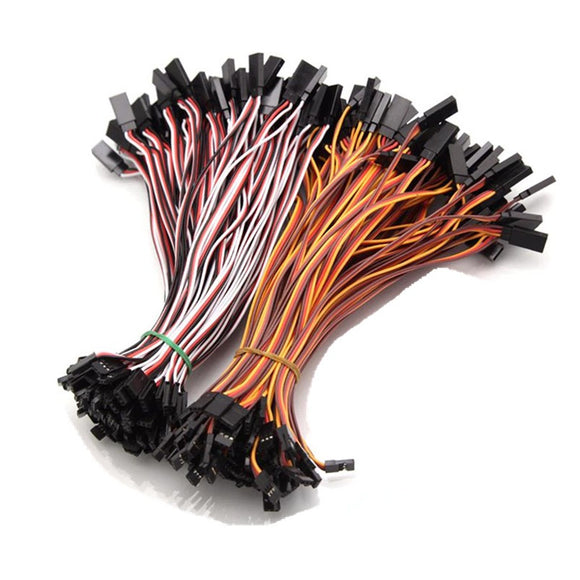10Pcs 10cm 15cm 20cm 26AWG to Male Futaba JR Plug Servo Extension Lead Wire Cable