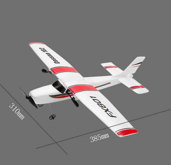 DIY RC Plane Toy EPP Craft Foam Electric Outdoor Remote Control Glider FX-801 Remote Control