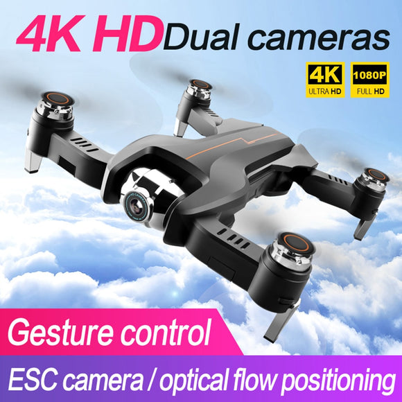 S5 WiFi FPV Drone 1080P 4K Wide-Angle HD Camera Live Video RC Toys Drones Quadcopter Drohne Quadrocopter Helikopter Droni Selfie
