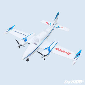 Dynam 1280MM Cessna 310 Grand Cruiser RC PNP Propeller Plane W/ Motor ESC Servos TH03710