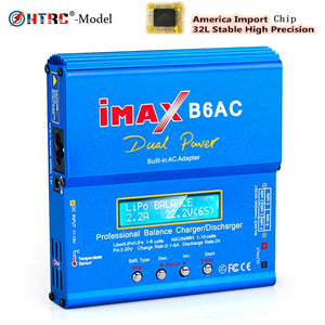 HTRC iMAX mini B6 AC RC Charger Lipo Battery Balance Charger 80W 6A Nimh Nicd Battery Balance Charger RC Discharger