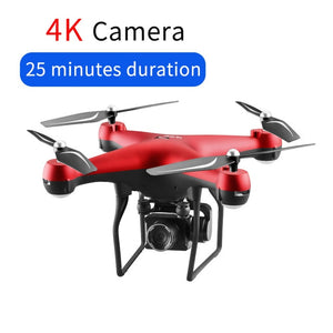 4K Drone With Camera Rotating HD Quadcopter With 1080P Wifi FPV Drone Professional Drone Flight 25 Minutes RC Helicopter Drohne