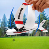 FX801 RC Airplane Plan 20 Minutes Flight Time Gliders 2 C H 2.4G Flying Model Hand Throwing