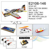 2019 New EPP Micro 3D Indoor Airplane SAKURA Lightest plane KIT (UNASSEMBLED )RC airplane RC MODEL