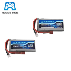 Upgraded RC Lipo Battery 2s 7.4v 2700mAh and 7.4v Charger For Wltoys 12428 12423 RC Car feiyue 03 Q39 Upgrade parts Battery