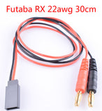 RC battery charger cable EC2 EC3 EC5 Deans Tamiya MPX XT30 XT60 XT90 XT150 Traxxas HXT Futaba to 4mm banana plug adapter cable