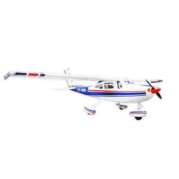 Balsa Wood Amphibious Cessna 182 Fixed Wing RC Airplane Model 1720mm Wingspan 60 Class Glow Electric With Float