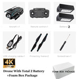 S17 Drone 4K Camera Adjustable Wide-Angle Quadcopter Optical Flow Dron 2.4g WIFI Foldable RC Drone FPV Height Maintenance Drohne