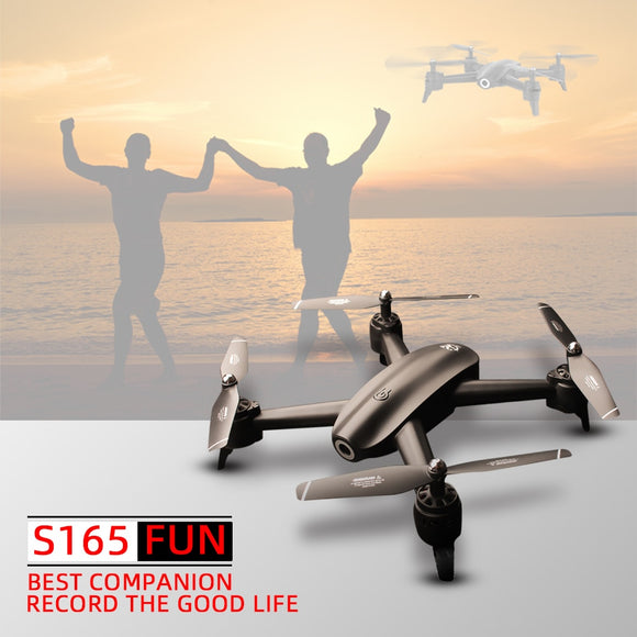 4K RC dron drones with camera helicopter drone toys quadcopter drohne quadrocopter helikopter droni selfie S165 VS SG106